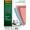 Fellowes Binding Covers A4 200 Micron PVC Clear Pack of 100