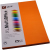 Quill Colour Copy Paper A4 80gsm Orange Pack of 100