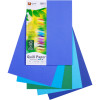 Quill Colour Copy Paper A4 80gsm Cold Colours Assorted Pack of 100