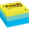 Post-It 2056-RC Notes Cube 76x76mm Blue Wave 470 Sheets