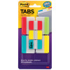 Post-It 686-VAD2 Durable Tabs 50mm & 25mm Assorted Colours Value Pack of 114