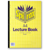 Spirax Lecture Pad 907 A4 140 Page Side Opening