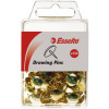 Esselte Drawing Pins Brass Pack Of 150