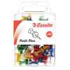 Esselte Push Pins 8x20mm Assorted Pack Of 50