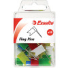 Esselte Flag Pins 10x18x33mm Assorted Pack Of 50