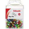 Esselte Map Pins 4x17mm Assorted Pack Of 200
