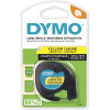 Dymo Letratag Labelling Tape 12mmx4m Yellow