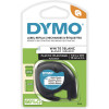 Dymo Letratag Label Cassette Tape 12mmx4m Pearl White