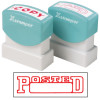 XStamper Stamp CX-BN 1211 Posted/Date Red