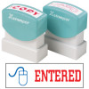 XStamper Stamp CX-BN 2027 Entered With Icon