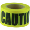 Maxisafe Barricade Tape CAUTION Black On Yellow 75mm x 100m