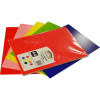 Rainbow Poster Board A4 Double Sided Assorted Pack of 10