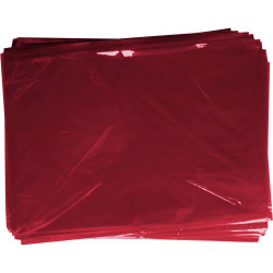 Rainbow Cellophane 750mmx1m Pink Pack of 25