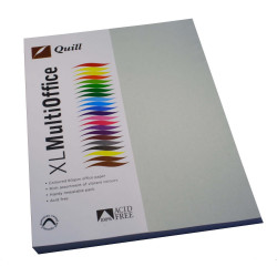 Quill Colour Copy Paper A4 80gsm Grey Pack of 100