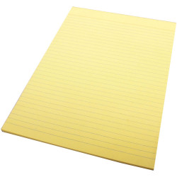 Quill Colour Bond Pads A4 70 Leaf Yellow