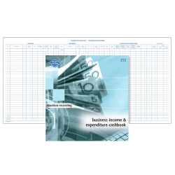 Zions 212 Income & Expense Book Business 290x285mm