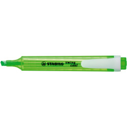 Stabilo Swing Cool Highlighter Chisel 1-4mm 275/33 Green Box Of 10
