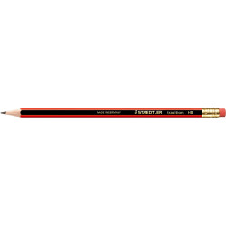 Staedtler 112 Tradition Pencil Rubber Tipped Graphite HB