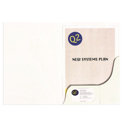 Marbig Professional Series Presentation Folders A4 Matte White Pack Of 20
