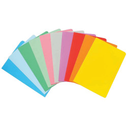 Marbig Manilla Folders Foolscap Assorted Colours Pack Of 20