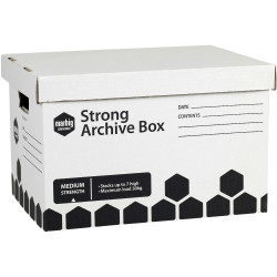 Marbig Archive Box Strong L420mm x H260mm X W320Mm