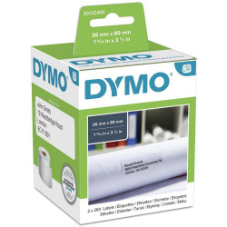 Dymo SD99012 Labelwriter Labels 36x89mm Address-Paper White Box of 520