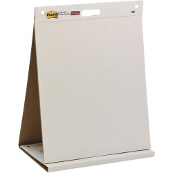 Post-It 563R Table Top Easel Pad 508x584mm Self Stick White 20 Sheet Pad
