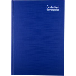 Cumberland Premium Diary Day To Page A5 Blue