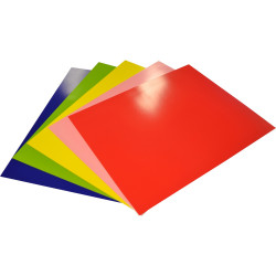 Rainbow Poster Board 510x640mm 400gsm Assorted Pack of 10